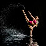 Dancer in water